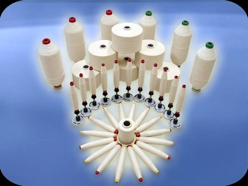 Купить  Ne 16/1 (Nm 27/1) Кольцепрядильная хлопчатобумажная пряжа / Ring Carded Cotton Yarn
