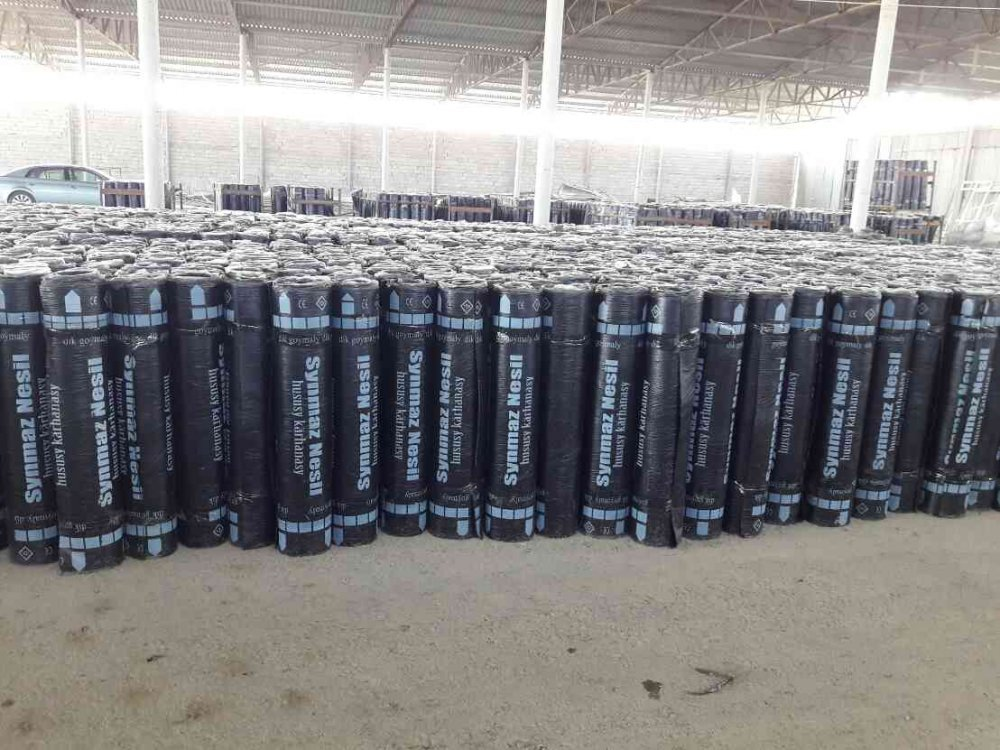 Rolled roofing and waterproofing materials (Roofing material)
