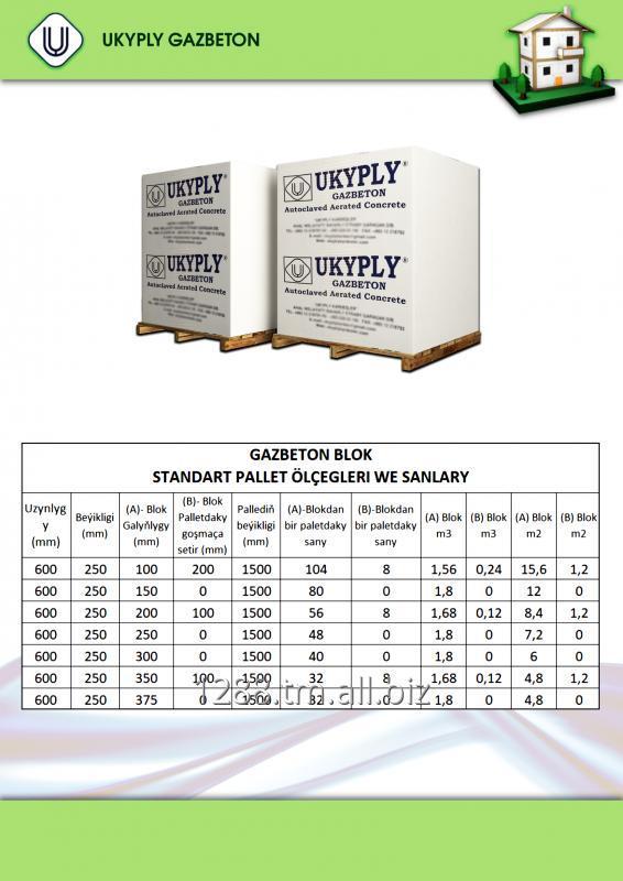 Buy Gas-concrete block