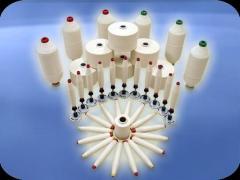 Ne 10/1 (Nm 17/1) Кольцепрядильная  хлопчатобумажная  пряжа / Ring Carded Cotton Yarn