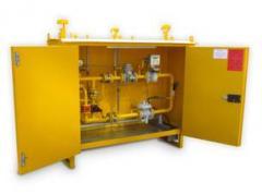Пункты учёта и редуцирования газа