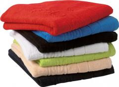 100% Cotton terry bath products