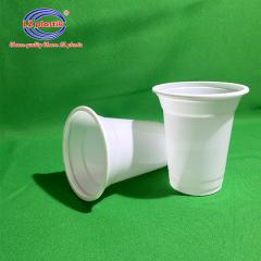 Disposable Drinking Cups 330ml 17oz, Plastic Cup for yoghurt, ayran; PP Polypropylene Cup