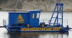 Земснаряд с электрическим, дизельным приводом: «Эпос» ЗС-200, «Эпос» ЗС-300
